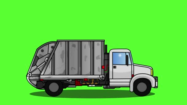truck garbage collection service