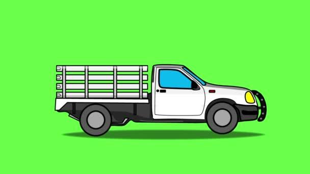 náklaďák sázky kreslený