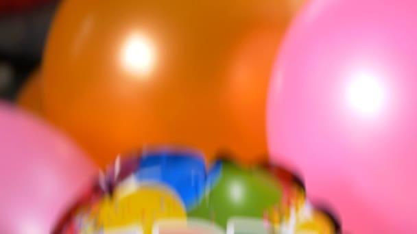 Joyeux Anniversaire Message Sur Ballons Video Tmbstudio1 C 107985316