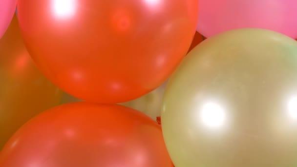 Alles Gute zum Geburtstag bunte Luftballons