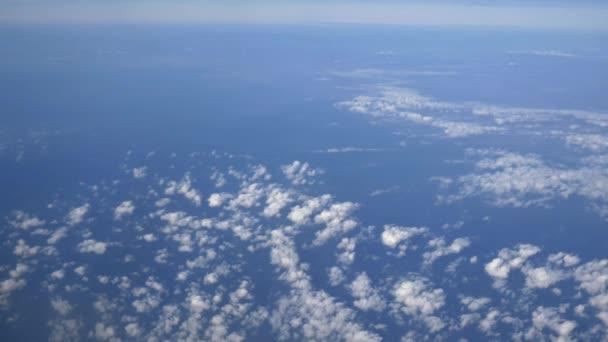 szép felhők és a kék ég
