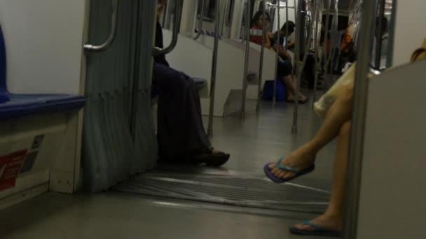 Cestující vlaku city