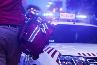 Rescue public service in action