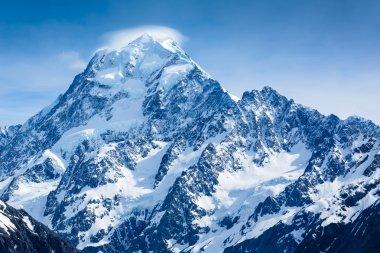"Картина, постер, плакат, фотообои ""величественный вид на гору кук "", артикул 107639728"