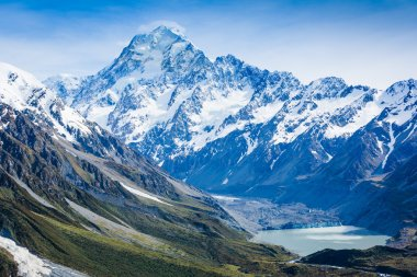 Majestic View of Mount Cook