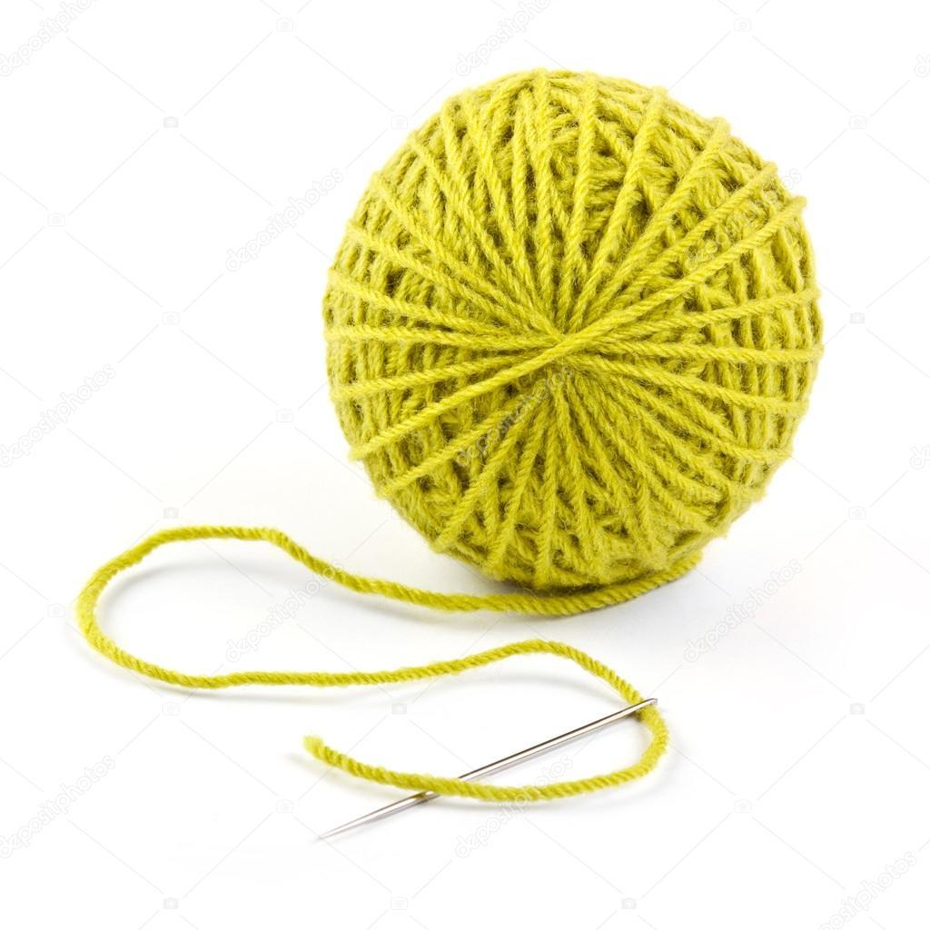 wool yarn ball