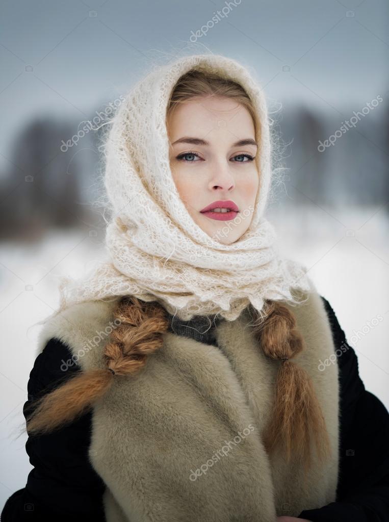 Vestito Donna — Un Bella Stock In Foto Russa Tradizionale UOIIdqY