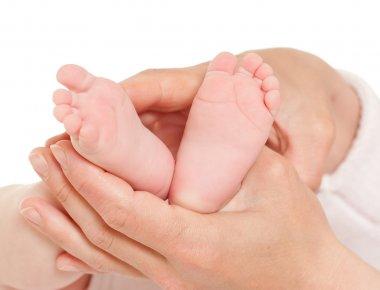 cute baby's feet