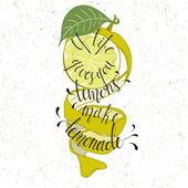 Fotografie Elegant Ink hand lettering