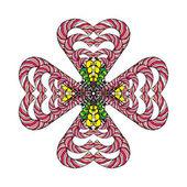 Fotografia Concetto di amore di stile Mandala Croce