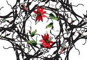 Fotografia Passiflora flowers pattern