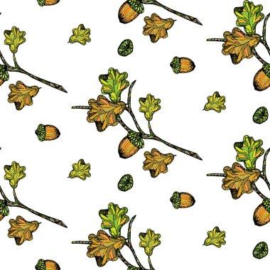 Autumn Oak pattern.