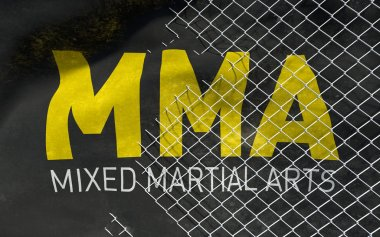 MMA concept background.