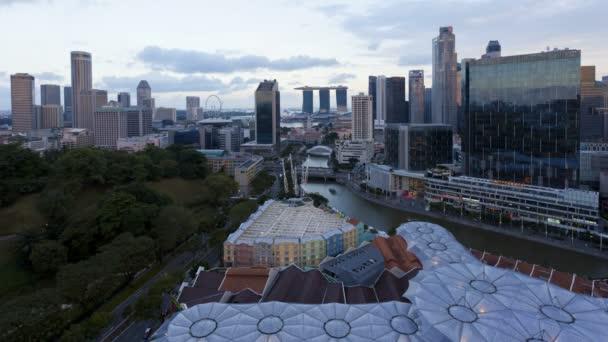Entertainment district of Clarke Quay, Singapore