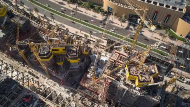 nové panorama Dubaje