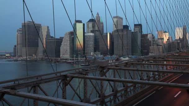 Financial district of Manhattan