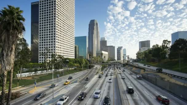 Freeway of Figueroa at Wilshire