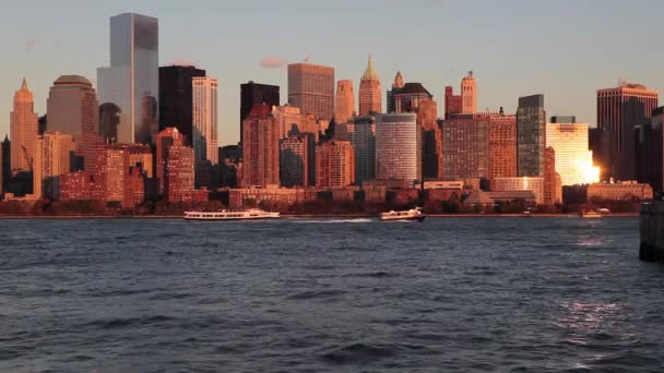 Downtown Manhattan skyline across the Hudson River