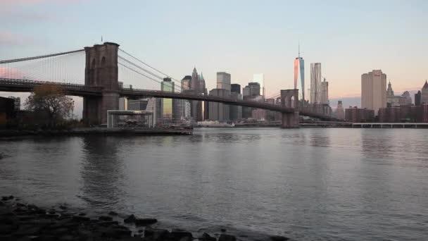 manhattan über den Hudson River