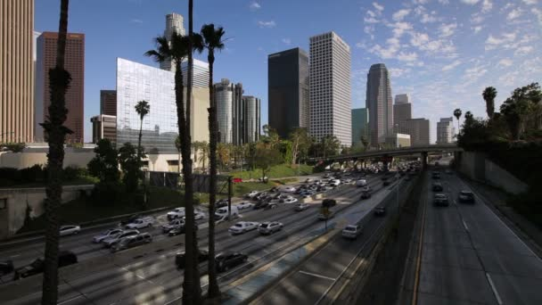 The 110 Harbour Freeway,  Los Angeles