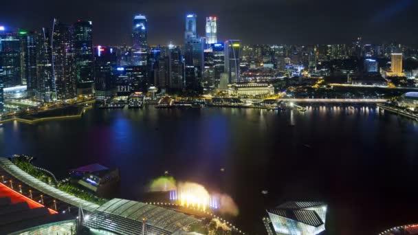 Central Singapore and Marina Bay, Singapore