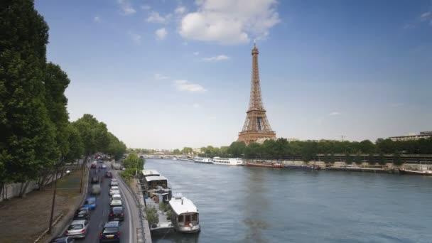 Eiffel Tower in natural light, Paris