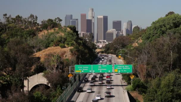 Pasadena Freeway Leading to Downtown Los Angeles