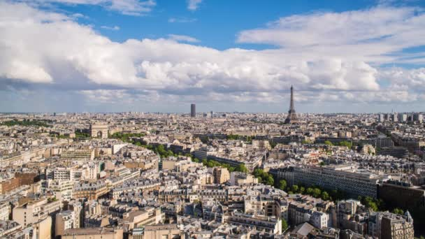 Arc de Triomphe and the Eiffel Tower, Paris