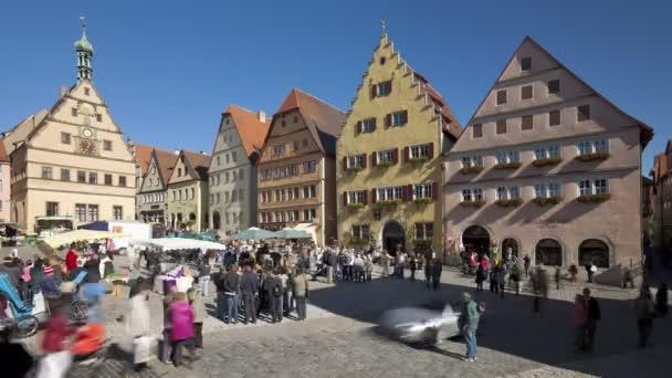 Traditionshäuser am Marktplatz, Rothenburg ob der Tauber