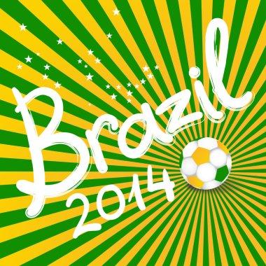 brazil soccer illustration