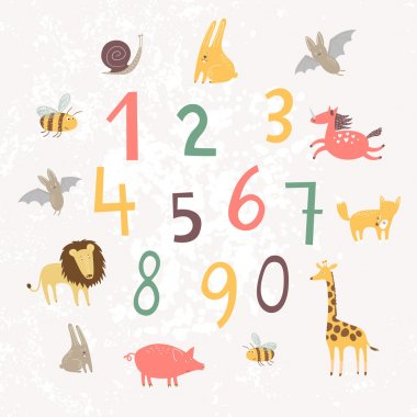 Numbers for children's education