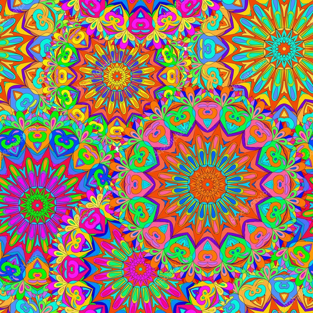 Fondos de pantalla mandalas coloridos mandala de colores - Colores para mandalas ...