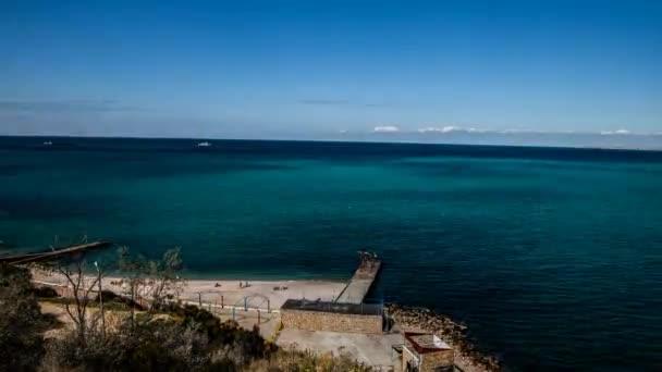 Time-Lapse krajina Černého moře