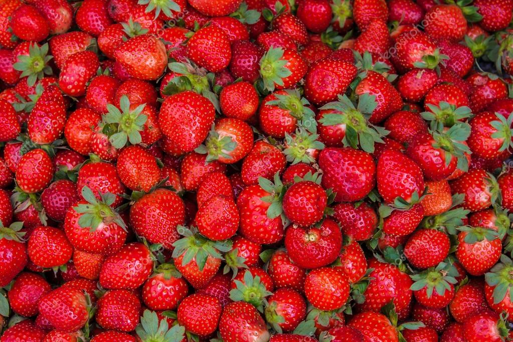 Fresh ripe perfect strawberry - Food Frame Background from freshly ...