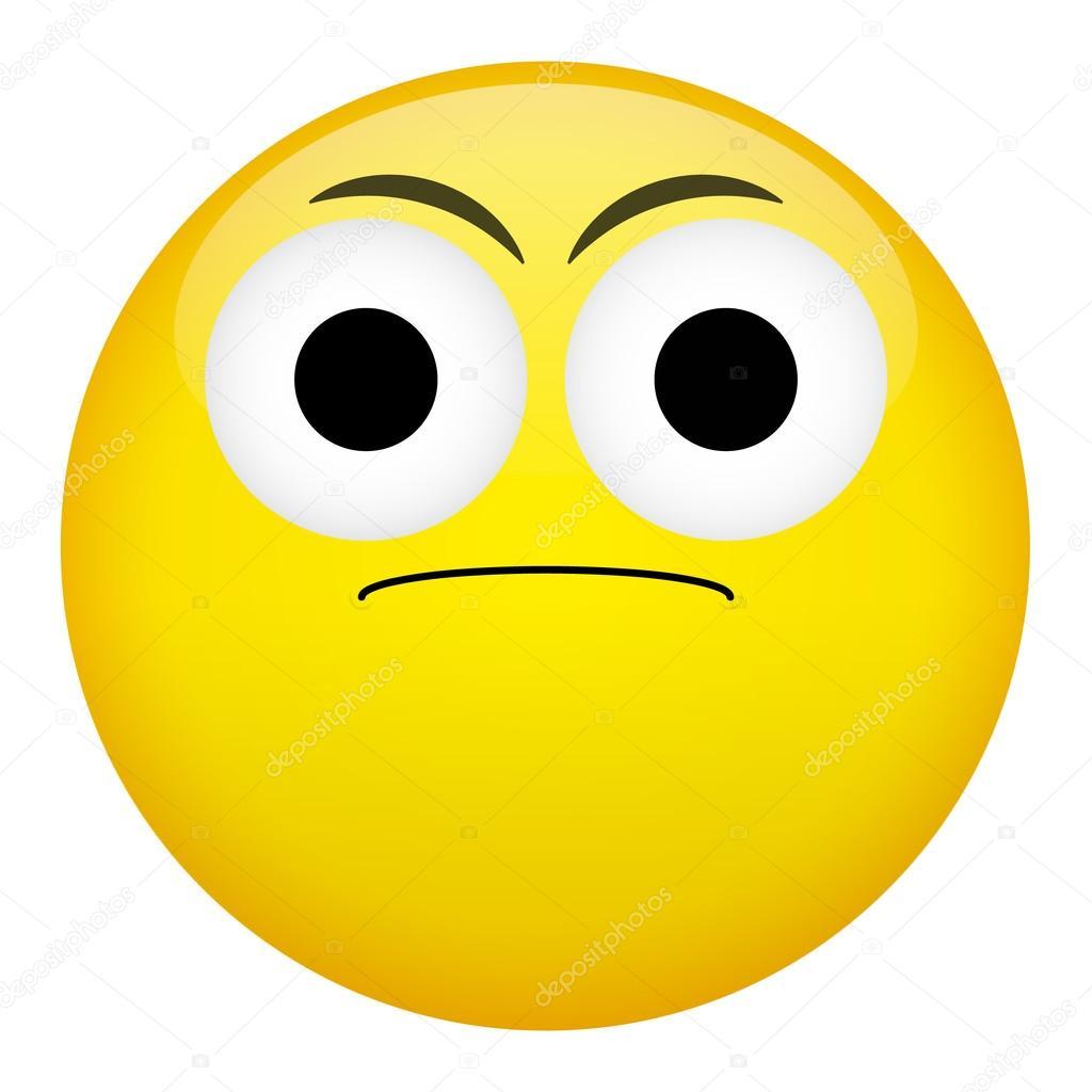 Frown emoticon