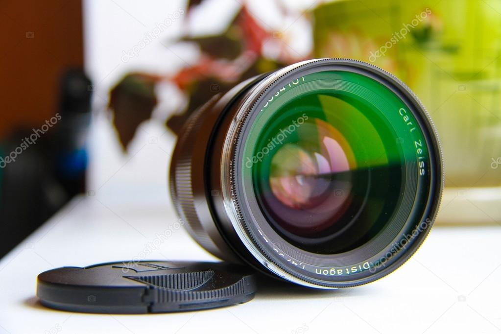 Lens carl zeiss — Stock Photo © LS29 #108378466