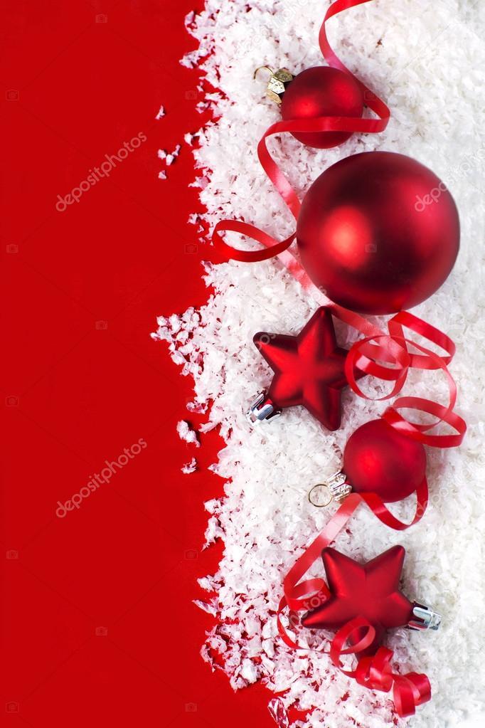 Fundo De Natal Cartão De Felicitações Decoração Fotografias De