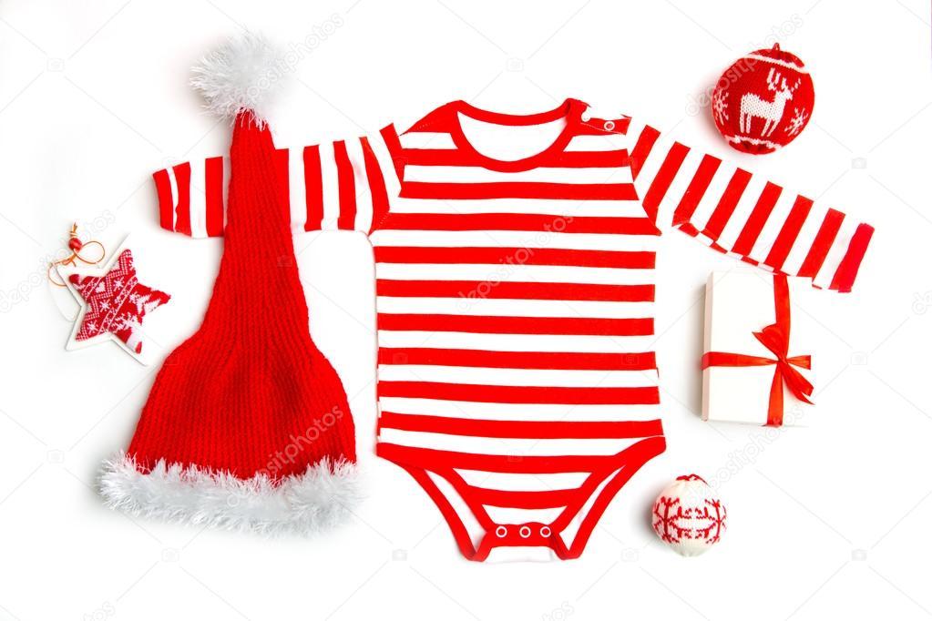 Babykleding Voor Kerst.Kerst Babykleding Met Kerstmis Sieraden De Kleren Van De Baby Van
