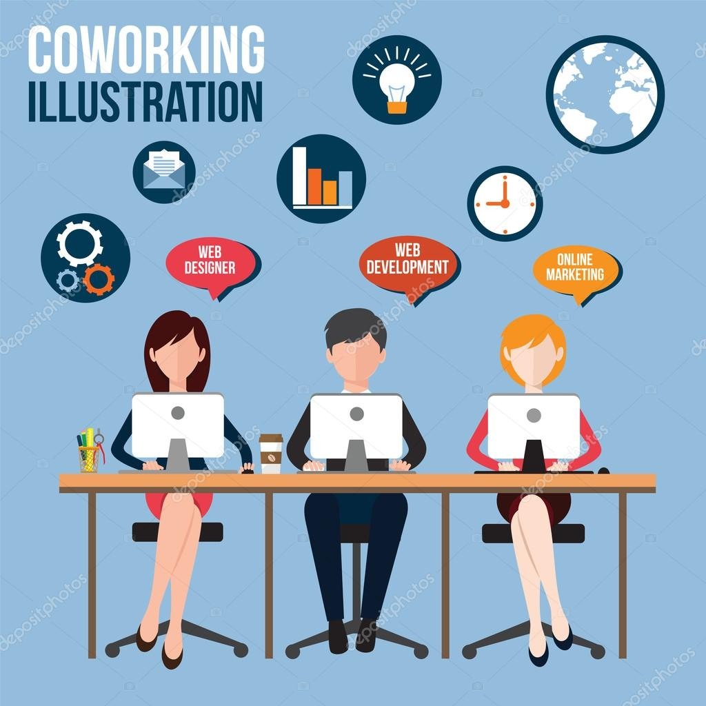 Coworking center business