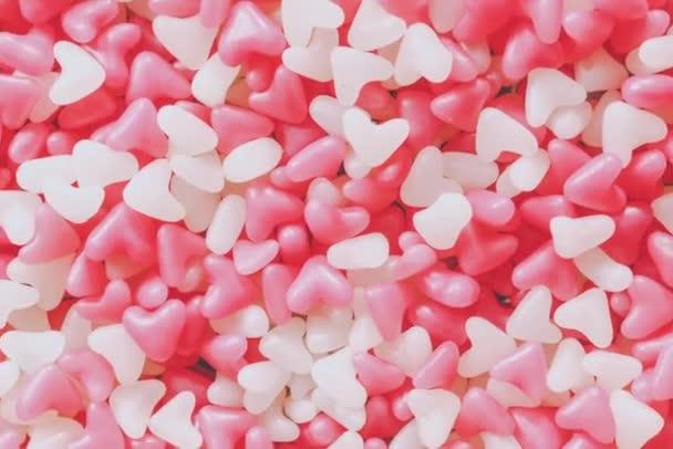 Schöne Marmeladenbonbons. sanfter Zoomeffekt