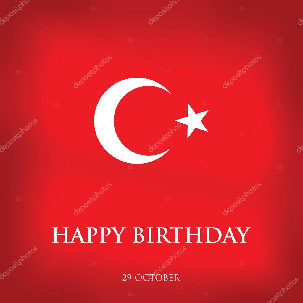 grattis på turkiska Grattis på födelsedagen Turkiet   gratulationskort  grattis på turkiska
