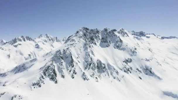 Hory Zimní švýcarské Vals Aerial
