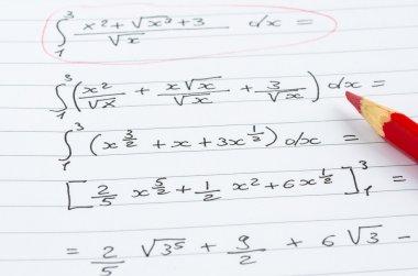 Handwritten Mathematical Formulas