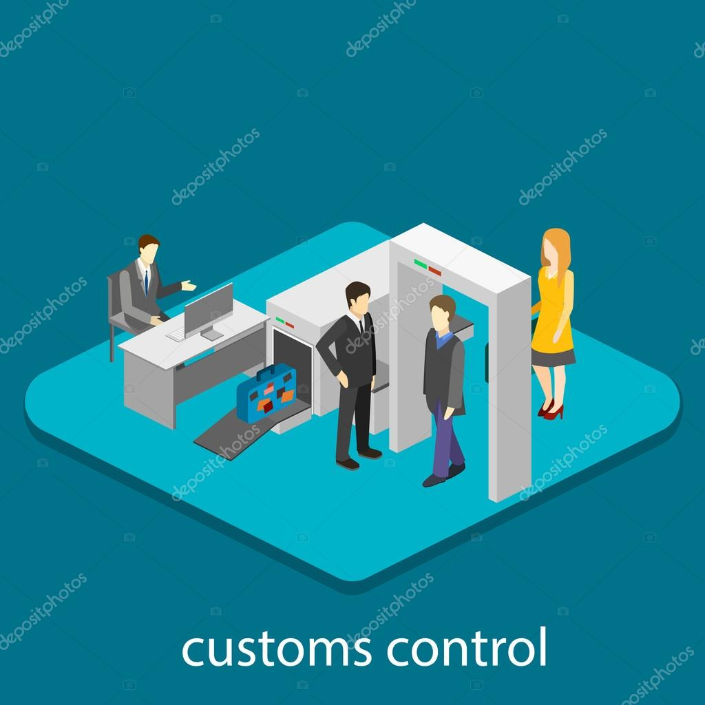 Diagram Of Security Metal Detectors Car Fuse Box Wiring Gold Detector Circuit In Airport Stock Vector Reenya 109829570 Rh Depositphotos Com For Schematic