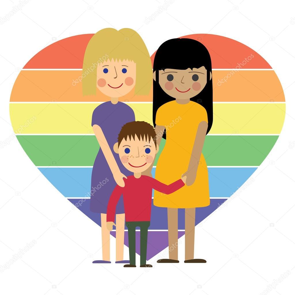 chico gay familia