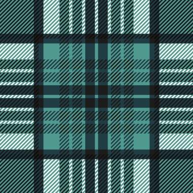 Plaid seamless tartan pattern. Twill texture.
