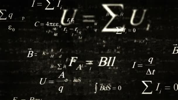 Nejlepší fyziku a matematiku vzorce létání i když tmavá stěna