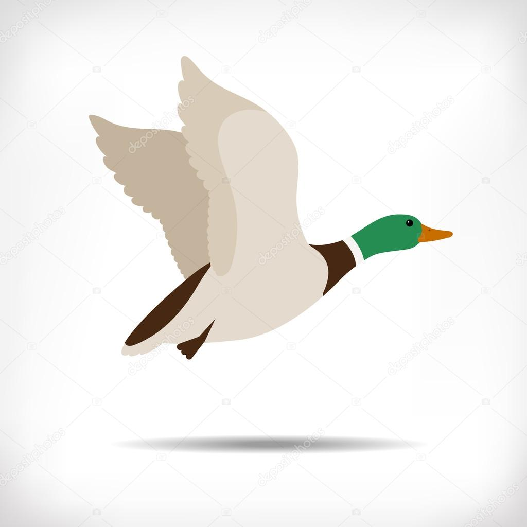 Duck Silhouette Clip Art Duck Silhouette Collection Stock