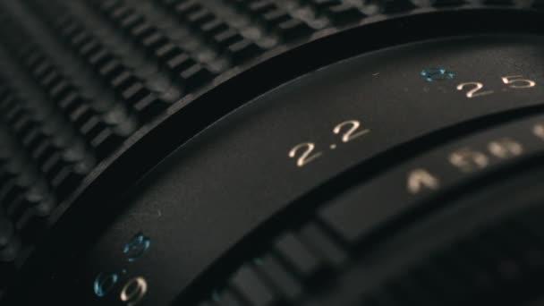 Manuální film fotoaparát, zoom objektiv