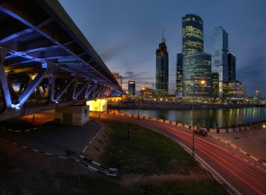 Bridge in Moscow, Russia